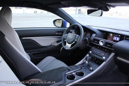 Lexus RC F prueba - toma de contacto