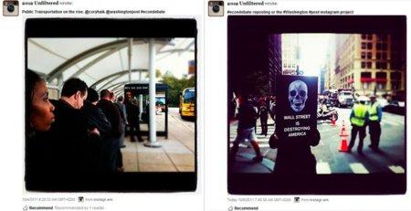 El diario Washington Post pide a sus lectores que retraten la situación actual a través de Instagram