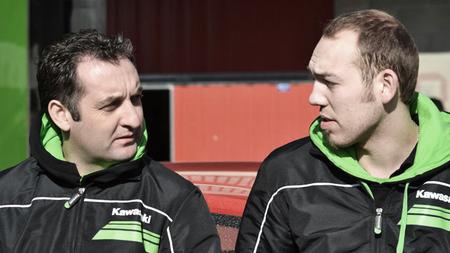 Michael Rutter y Peter Hickman
