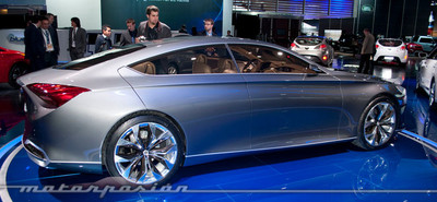 Hyundai HCD-14 Genesis Concept, plantando cara al segmento