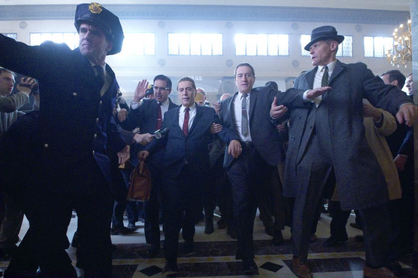'El Irlandés' es un festín cinéfilo pero también lo menos brillante de la trilogía de gangsters de Scorsese