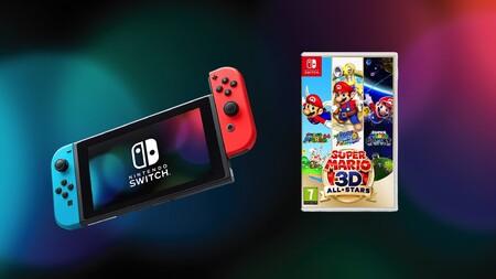 No es Prime Day pero siguen las ofertas en Amazon: juega y ahorra con la Nintendo Switch y el Super Mario 3D All-Stars a 339 euros