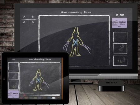 Party Doodles para iPad, diversión en tu televisión con gracias al Apple TV