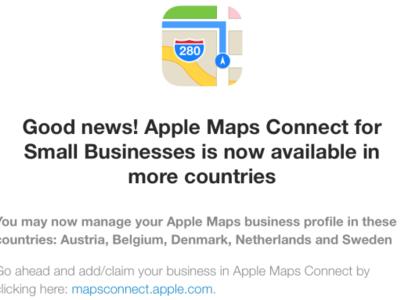 Maps Connect sigue su rápida expansión y anuncia su llegada a nuevos países europeos