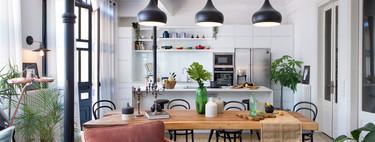 Un piso con carácter diseñado por Egue y Seta en el que la decoración y la distribución no siguen las normas convencionales