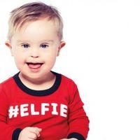 El bebé al que habían rechazado para un anuncio por tener Síndrome de Down protagoniza ahora una campaña publicitaria