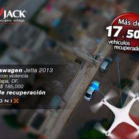 Lo Jack ahora utiliza drones para recuperar autos en CDMX