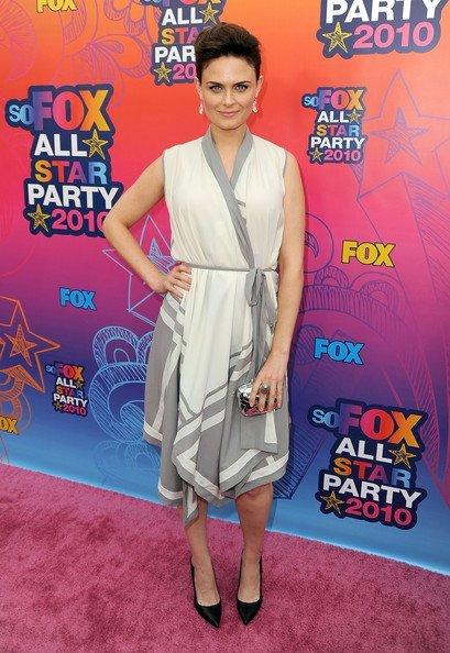 Look fiesta veraniega de Fox 2010 TCA. Emily Deschanel