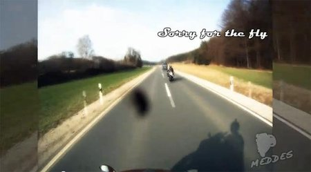 Un tipo con suerte y su Yamaha R1