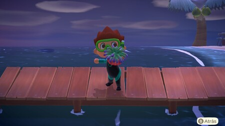 Animal Crossing: New Horizons: lista con todas las criaturas de la pesca submarina de enero