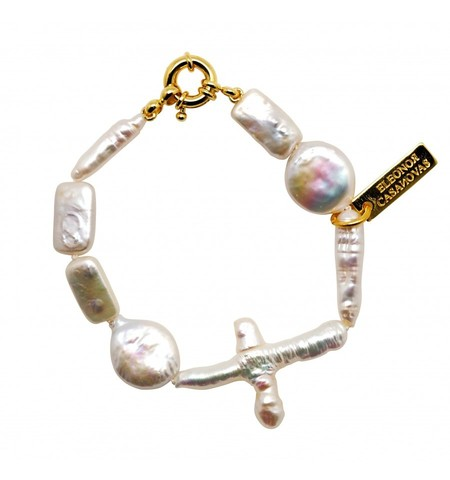 Pulsera For Pearls Lovers