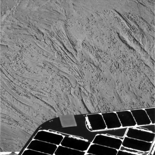 Oportunity cámara panorámica, sol 1