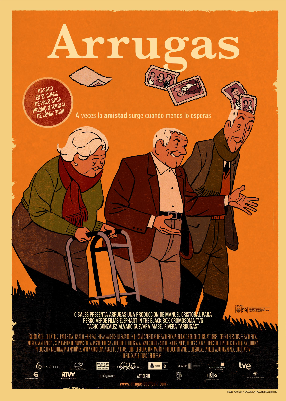'Arrugas', la película de animación española dirigida por Ignacio Ferreras