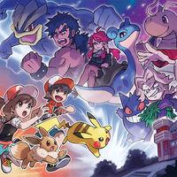 Pokémon: Let's Go, Pikachu! y Let's Go, Eevee!: así lucen el Alto mando y los entrenadores Rojo, Azul y Verde