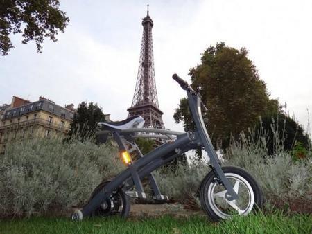 Stigo, una moto eléctrica tan rápida de plegar como un paraguas