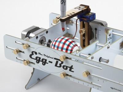 Diseñando elementos decorativos con el Egg-Bot