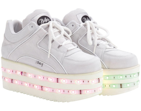 zapatillas luces topshop