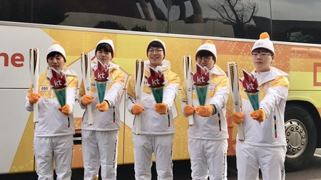 Los jugadores de KT Rolster, protagonistas en los Juegos Olímpicos de Invierno
