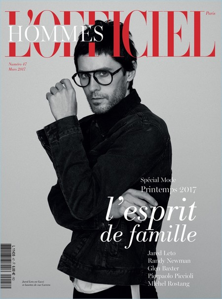 Dos portadas de Jared Leto para L'Officiel Hommes Paris