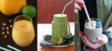 23 ideas de batidos con frutas de temporada en otoño