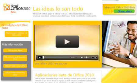 Microsoft Office 2010, ya disponible la beta pública