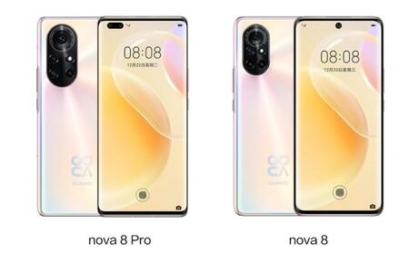 Nova 8 Versiones
