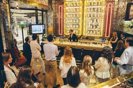 Taller Coctelería Absolut Elyx en Complications Bar (Boutique Franck Muller Madrid)