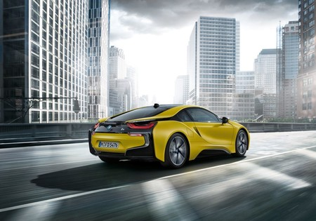 Bmw I8 Frozen Yellow Edition 2017 02
