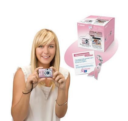 Canon Pink, cámara fotográfica contra el cáncer de mamas