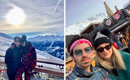 Nick Jonas y Priyanka protagonizan junto a Sophie Turner y Joe Jonas la estampa más invernal y romántica para despedir 2018