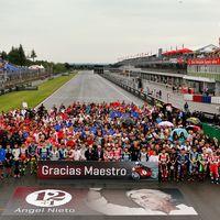 """""""Gracias Maestro"""". MotoGP homenajea a Ángel Nieto y el Circuito de Jerez llevará su nombre"""
