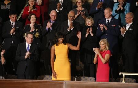 Michelle Obama Narciso Rodriguez Discurso De La Union 2016 2