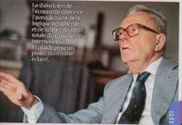 Maurice Allais, el único premio Nobel francés de economía murió a los 99 años
