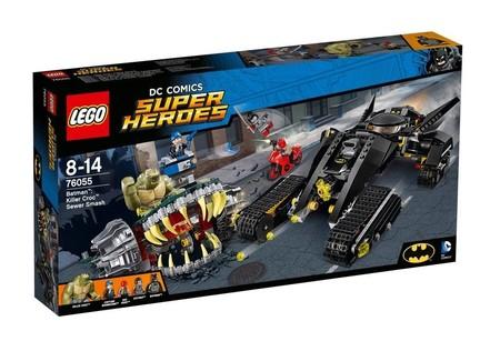 El set de Lego Killer Croc: incursión en las alcantarillas ahora a la venta por 59,90 euros en Alternate