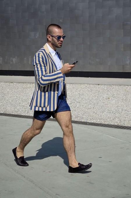 La Combinacion De Blazers Y Shorts Se Apoderan Del Mejor Streetstyle De La Semana 06