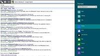Y así se ve Firefox en su versión Metro