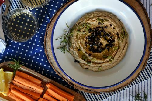 Cómo hacer el hummus de aceitunas kalamata de Mercadona, receta tradicional (y también con Magimix Cook Expert)