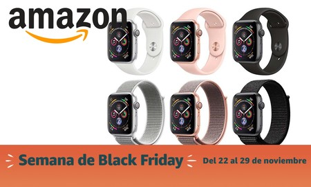 Black Friday 2019: Apple Watch Series 4 a precios estupendos en Amazon