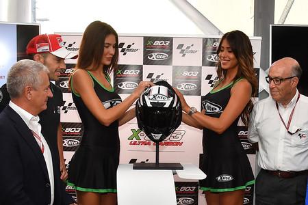 X-lite presentó en Misano el revolucionario X-803, un casco digno de MotoGP