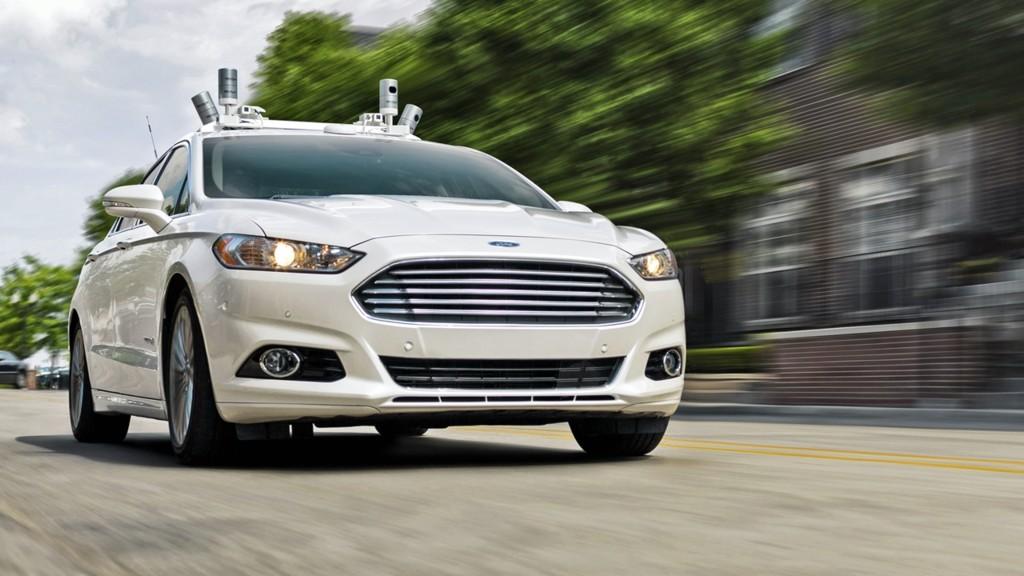 Ford Fusion Hybrid Autonomo 2