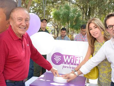 Nuevas zonas WiFi gratis fueron inauguradas en 9 municipios del país