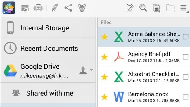 Google lanza QuickOffice para iOS y Android solo para los clientes de Google Apps