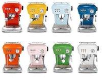Cafeteras espresso, retro y de colores
