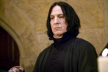 Se nos ha ido Severus Snape... Hasta siempre Alan Rickman
