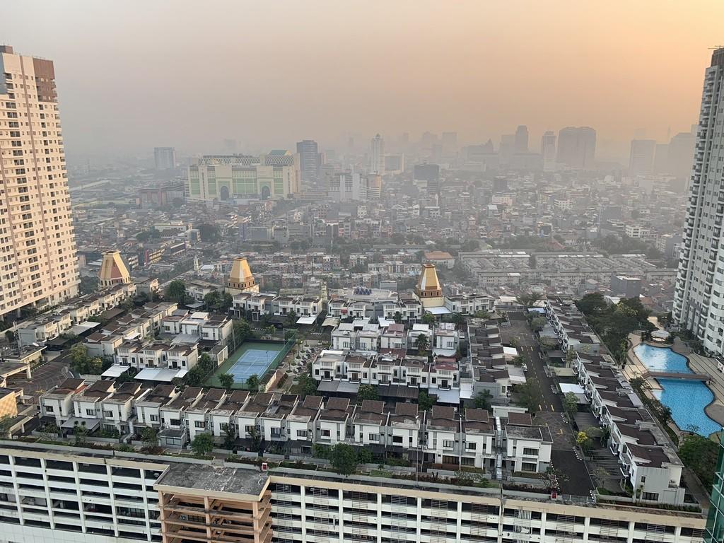 Esta urbanización es tan exclusiva que está en la décima planta de un edificio