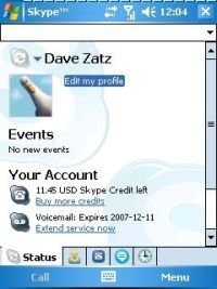 Nuevo Skype 2.2 Beta para Windows Mobile