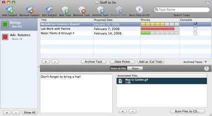 Apunta tus deberes con iProcrastinate