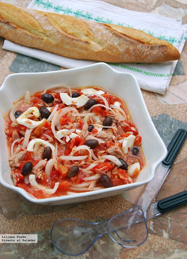 Ensalada murciana receta tradicional for Ideas para una cena de picoteo
