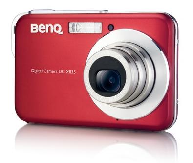 Benq X835, cámara compacta con tecnología Z-Lighting
