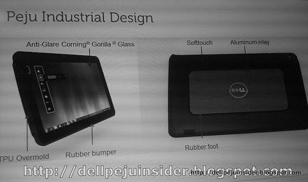Dell Peju, primeras imágenes de la tablet Windows